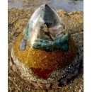 Quartz Orgonite Cone